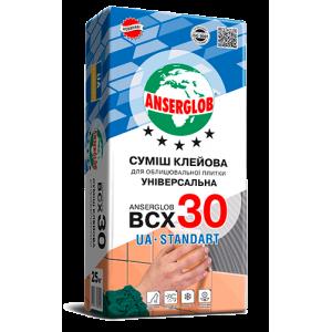 Клей для плитки Anserglob ВСХ-30 UA-standart