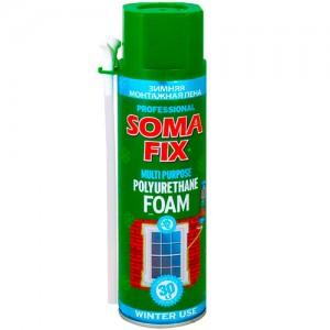 Монтажная пена Soma Fix ручная зимняя 500мл  61874004