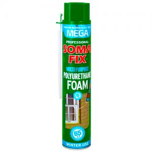 Піна монтажна Soma Fix Mega ручна зимова 850 мл