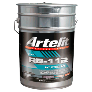 Каучуковый клей для фанеры и паркета Artelit RB-112