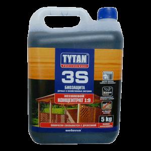 Биозащита садовой древесины Tytan 3S