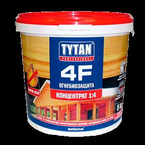 Огнебиозащитное средство для древесины Tytan 4F