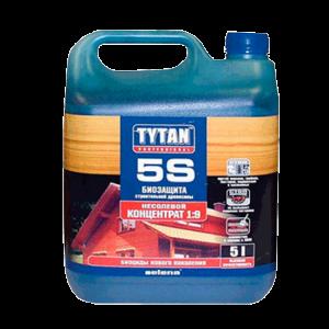 Биозащита строительной древесины Tytan 5S