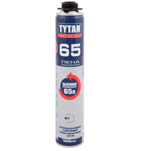 Монтажная пена TYTAN 65 Gun