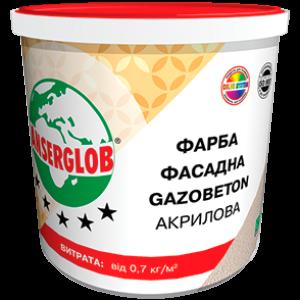 Фасадная краска для газобетона Anserglob