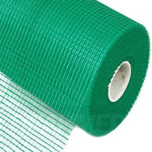 сетка стеклотканная 4/4мм 165гр/м (зеленая)