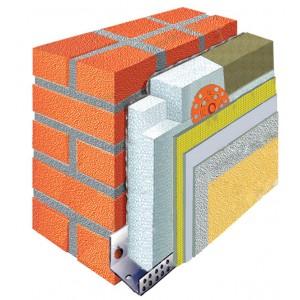 Утеплення фасадів-система Ансерглоб