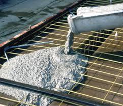 белый архитектурный бетон на основе белого цемента