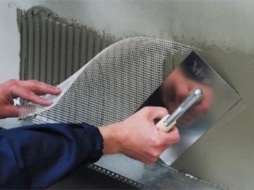 армирующий слой в системе утепления фасадов